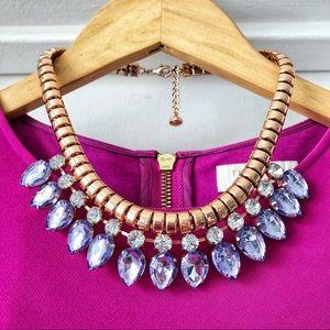 Ted Baker Swarovski Crystal and Rose Gold Necklace